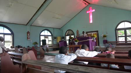 melanesia : Sunday service in Methodist Church in Fiji. The Methodist Church of Fiji and Rotuma It is the largest Christian denomination in Fiji about 36 percent of the total population.