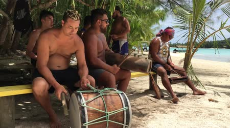 cook islanders : Pacific Island men play music.Music in the Cook Islands is varied, with Christian songs being popular, but traditional dancing and songs in Polynesian languages remain popular.