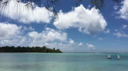 most : Landscape of Muri lagoon on Rarotonga Cook Islands. Muri lagoon is the must popular place fro recreational water sport and tourist sightseeing in Rarotonga Cook Islands.