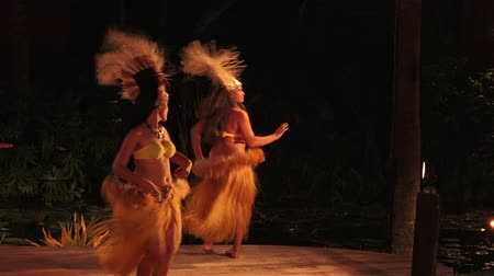 cook islanders : Pacific Islander women dance in a cultural show in Rarotonga, Cook Islands.The islanders are of the Maori race linked in culture and language to the Maohi of French Polynesia.