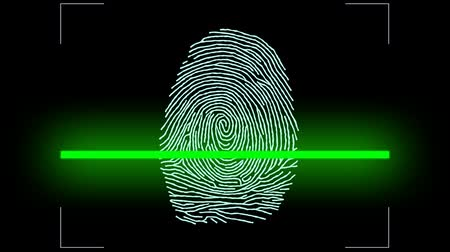 detectives : Touch, ID, Fingerprint scan Access Symbol