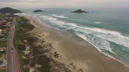 Beach of Santa Catarina state, Brazil
