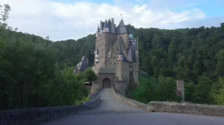 historical germany : Castle Eltz Landscape a Medieval Castle Located in Germany