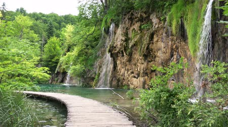 plitvice : Beautiful Landscape at Plitvice Lakes National Park, Croatia.