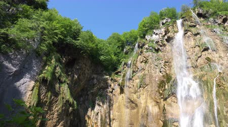 plitvice : Big Waterfall at Plitvice Lakes National Park, Croatia.