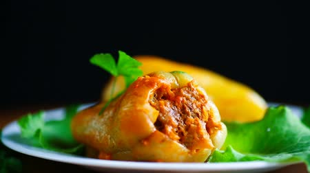 picado : stewed in tomato sauce stuffed peppers