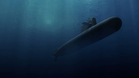 u boats : Submarine patrolling just below the waters surface