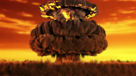 atomový : Animation of a nuclear blast version 2