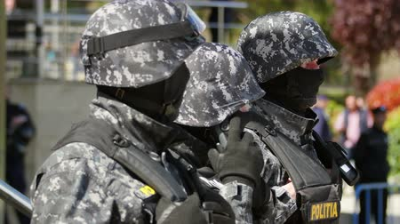 bulletproof : Special forces officers guarding an objective