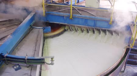 hydraulické : Rotary vacuum pan filter used for filtration and washing of coarse grained slurries