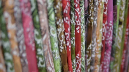 têxtil : traditional Asian fabric with ethnic inspired designs and colors