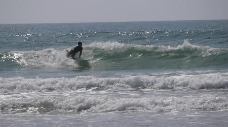 many surfers : surfers on sea morocco 5