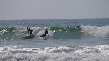 many surfers : surfers on sea morocco 6