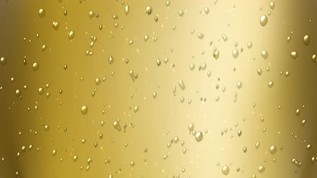 bolha : champagne bubbles Stock Footage