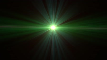 beauty spot : Ufo flare lens flare special effect with dark background