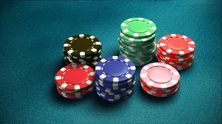 yüzde : Casino 6 of chips blue table 2