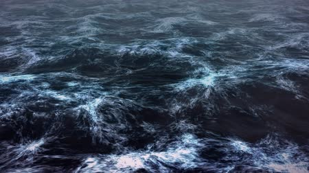 oceano : Dark sea render Vídeos