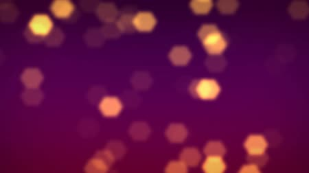 particulas : purple gold HD Archivo de Video