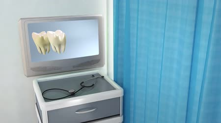 limpar : tooth step be white medical screen