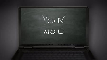 verdadeiro : yes no selection box