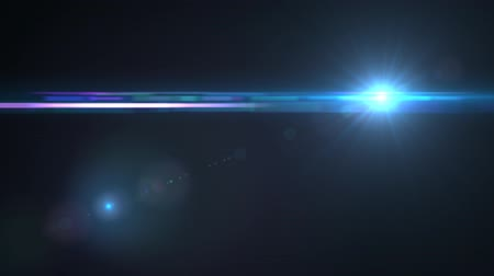 фотосъемка : Lens Flares crossing Sea Blue