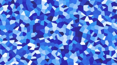 trójkąt : large irregular shape pattern background blue