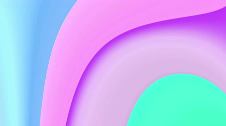 The radiant colorful background with seamless motion loop.
