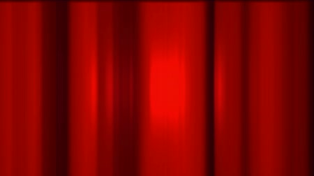 hedvábí : red stage curtain,metal background.