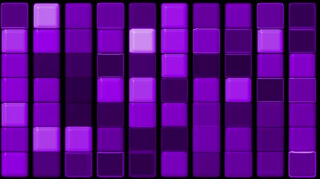 quadrado : purple glass rectangle matrix background.