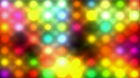 brilhar : Color circle matrix. Stock Footage