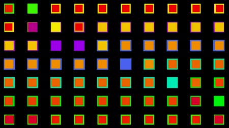 mozaik : color square neon light background