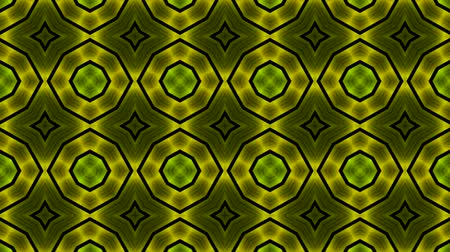 srebro : green metal flower background. Wideo