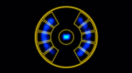 pneus : Energy emission instrument with pulsing blue light.UFO,Engines,turbines,scanning,radar,machinery,records,symbol,dream,vision,idea,creativity,creative,vj,beautiful,art,decorative,mind,Game,Led,neon lights,modern,stylish,dizziness,romance,romantic,Fire Vídeos