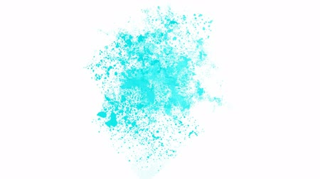 creativity : splash blue ink.Mirage,hallucinations,dust,particle,symbol,dream,vision,idea,creativity,vj,beautiful,decorative,mind,