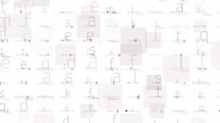 programmers : letter matrix background,alphabet,computer screen,tech,web.spelling,education,exams,school,books,articles,authors,writers,literature,writer,dictionaries,particle,Design,pattern,dream,vision,idea,creativity,vj,beautiful,art,decorative,mind,Programming Stock Footage