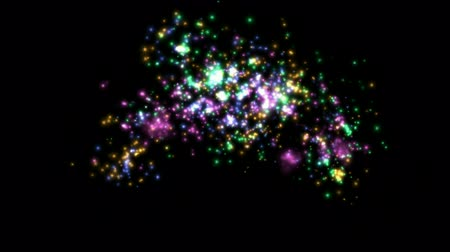 dazzle : Fireworks and flicker stars.