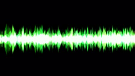 voz : green ray light background,voice noise rhythm. Stock Footage