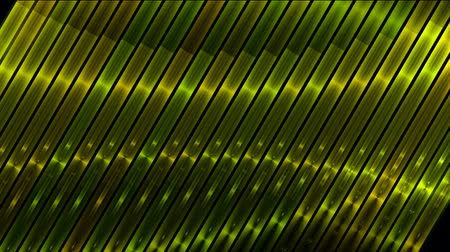 paslanmaz : inclined metal strips waver background. Stok Video