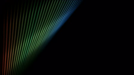 inclinado : abstract fiber optic banner. Stock Footage