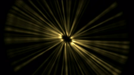 yaşama gücü : golden rotation ray light in space.