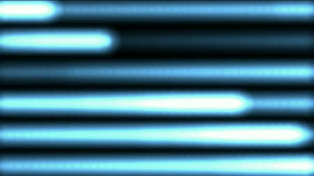 flowing lines : blue dots shaped stripe light background,laser weapon,heartbeat,ECG,cardiac arrest,heart stop medical video.