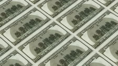 fiscal : back of 100 dollar bills,Printing Money Animation. Stock Footage