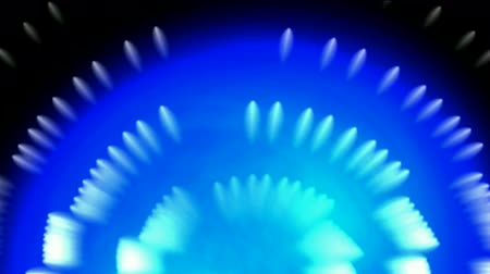 fiber optic : whirl fiber optic and bubble,blue cable rays laser light in space. Stock Footage