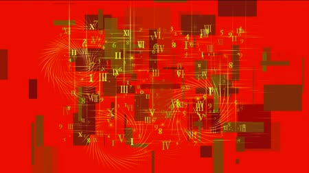 complex system : number and alphabet matrix in square wire background,higher mathematics and calculus,finance market display.
