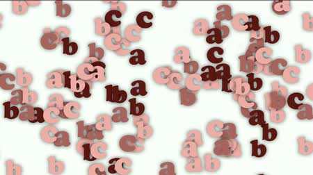 programmers : cartoon letter paper card matrix background,alphabet abc,computer screen.
