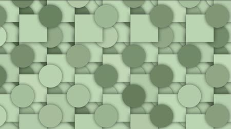 lasca : rolling circle and square mosaics pattern,Higher geometry math background.
