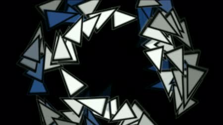 kübizm : triangles card mosaics shaped rotation round,abstract math geometry.
