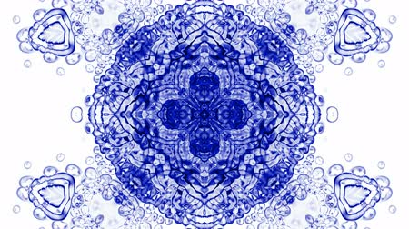 puhatestű : crystal glass religion flower mandala fancy pattern,plant vines growing,rotation ribbon and particles chain,swirl profiled microbe and jellyfish,cells and plankton.