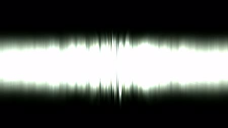 barriers : Static waveform degraded,dazzling white noise rays light in space,audio rhythm.