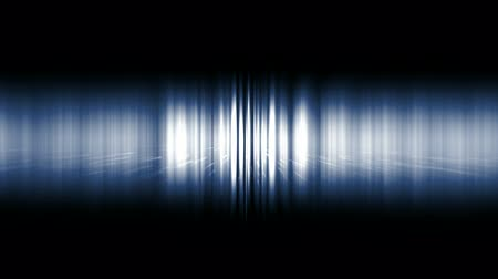 listras : dazzling blue noise rays light in space,audio rhythm,static waveform degraded. Stock Footage